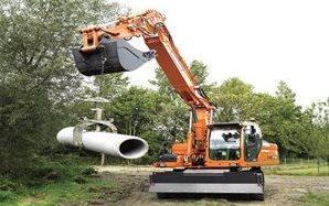 Doosan DX210W Wheeled Excavator