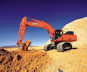 Doosan DX490LC-5 Crawler Excavator