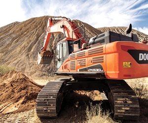 Doosan DX530LC-5 Crawler Excavator