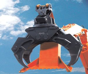 Doosan Log Grapple Attachment
