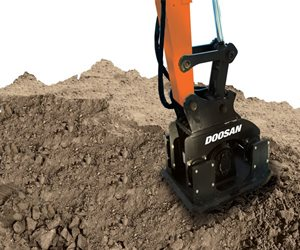 Doosan Plate Compactor Attachment