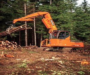 Doosan DX225LL Log Loader
