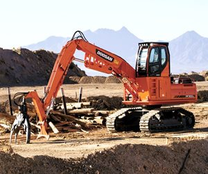 Doosan DX300LL-3 Log Loader