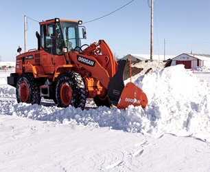 Doosan Snow Pusher