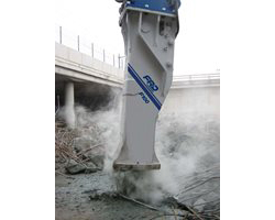 FRD F100 Qt Large Series Hydraulic Breaker