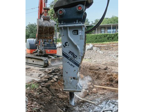 FRD Fx275 Qtv Large Series Hydraulic Breaker