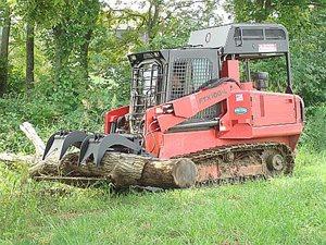 Fecon FTX100 Mulching Tractor