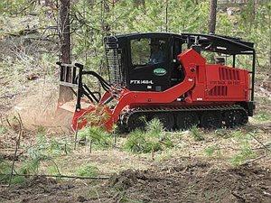 Fecon FTX148 Mulching Tractor