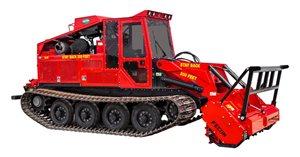 Fecon FTX250 Mulching Tractor