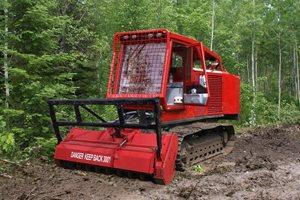 Fecon FTX400LGP Mulching Tractor