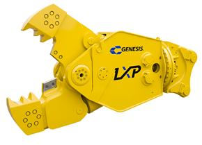Genesis LXP 400 Shear with Concrete Cracker Jaw