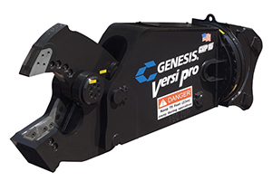 Genesis GVP 15 with Shear Jaws