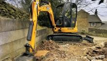 JCB 8035 ZTS Compact Excavator