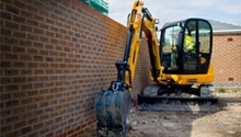 JCB 8055 RTS Midi Excavator