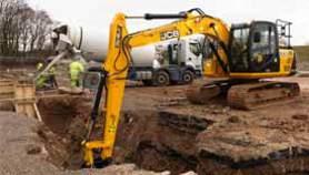 JCB JS145 Tracked Excavator