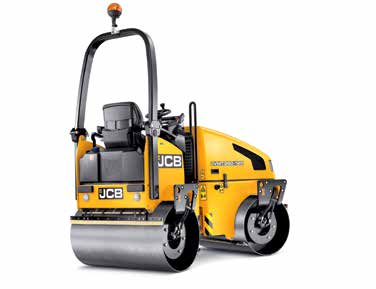 Paving Equipment - JCB VMT 260-100 / 120 Vibratory Tandem Roller