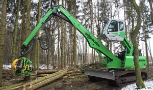 Sennebogen 718 Crawler Timber Handler