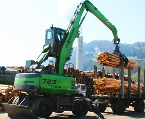 Sennebogen 723 Mobile HD Timber Handling Machine