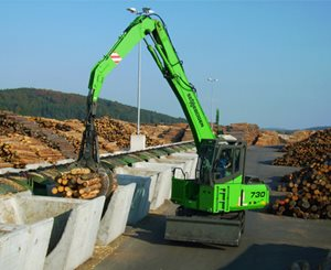 Sennebogen 730 Mobile HD Timber Handling Machine