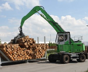 Sennebogen 735 Mobile HD Timber Handling Machine