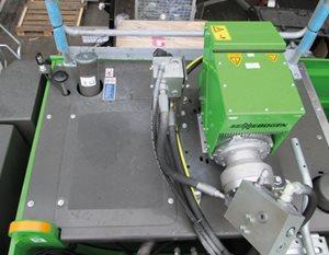 Sennebogen Scrap Magnet Generator