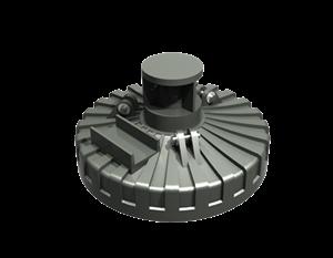 Sennebogen Scrap Magnet Plate