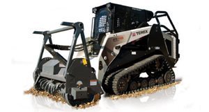 Terex PT110 Forestry Compact Track Loader
