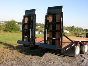 TowMaster Hydraulic Ramp