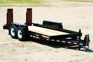 TowMaster T-9P Drop-Deck Trailer