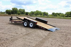 TowMaster T-9DT Drop-Deck Tilt Trailer