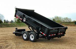 TowMaster T-10HD Hydraulic Dump Trailer