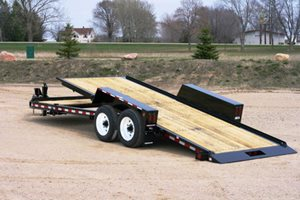 TowMaster T-16DT Drop-Deck Tilt Trailer