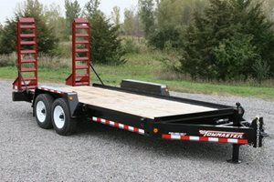 towmaster t-14d drop-deck trailer