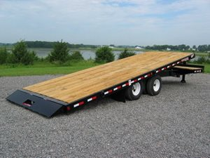 TowMaster T-24T Deck-Over Tilt Trailer