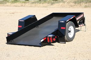 TowMaster T-3DT Drop-Deck Tilt Trailer