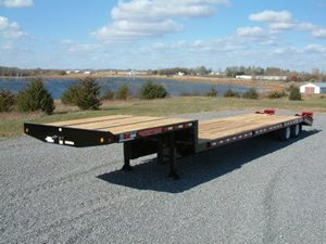 TowMaster T-50RG Rigid Gooseneck (Step Deck) Trailer