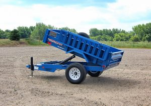 TowMaster T-5HD Hydraulic Dump Trailer