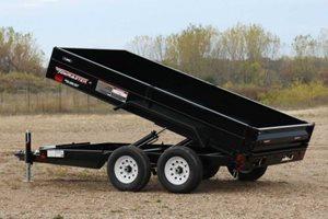 TowMaster T-9HD Hydraulic Dump Trailer