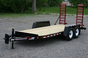 TowMaster TC-10D Drop-Deck Trailer