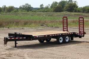 TowMaster TC-10 Deck-Over Trailer