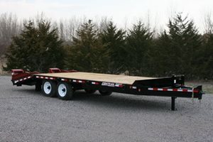 TowMaster TC-16 Deck-Over Trailer