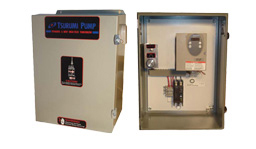 Tsurumi Water Features Inverter Control Panel