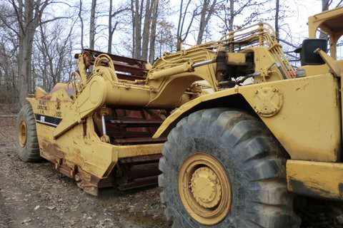 Caterpillar 615C Elevated Scraper